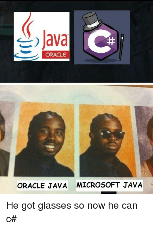 Forget Java Microsoft Who Gives A Fuck Quickmeme