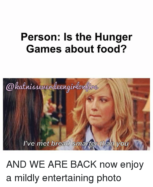 If Yall Dont Want To Plant Food Let The Hunger Games Begin If Y