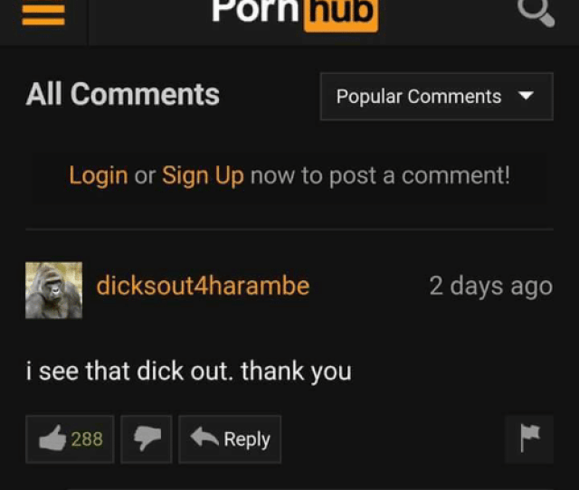 Dank Porn Hub And Thank You Porn Hub All Comments Popular Comments Login
