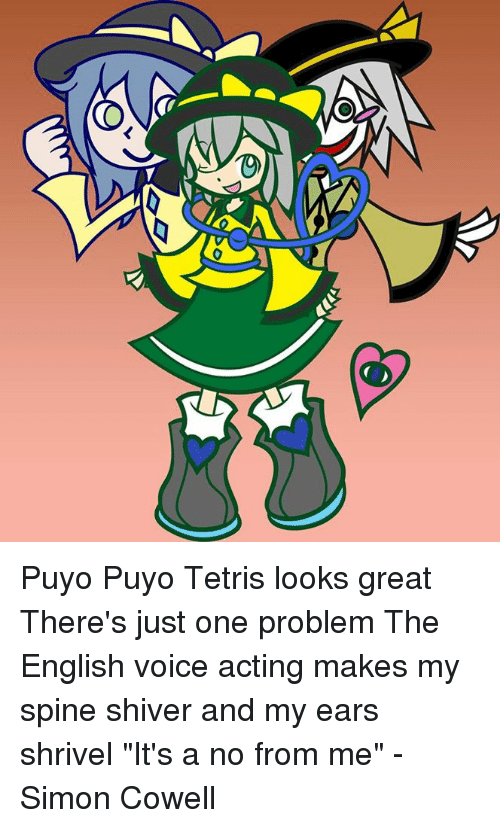 Puyo Puyo Tetris Looks Great There S Just One Problem The English