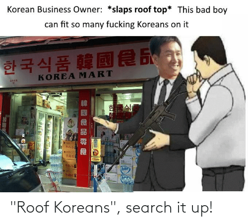 Roof Koreans The Comic Roof Koreans Know Your Meme