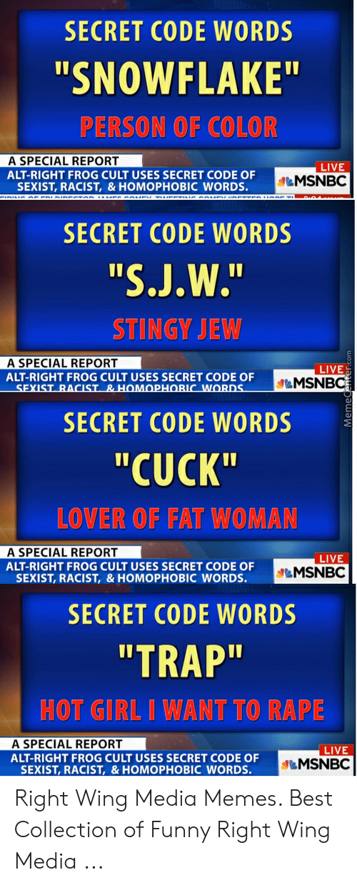 Secret Code Words Snowflake Person Of Color A Special Report Live