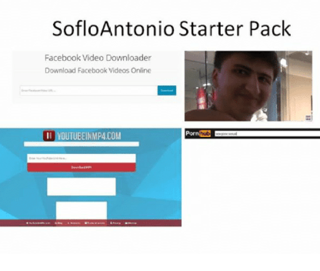Facebook Porn Hub And Starter Packs Sofloantonio Starter Pack Facebook Video Downloader Download