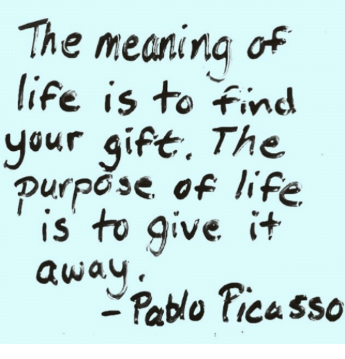 Allow Your Passion To Become Your Purpose And It Will One Day