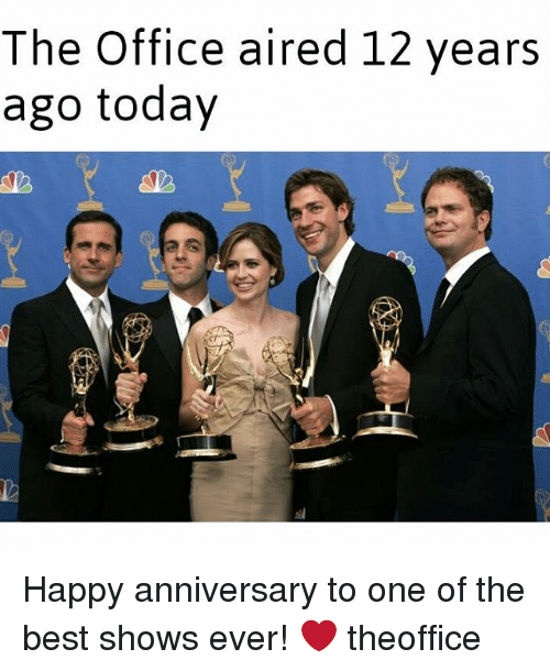 The Office Aired 12 Years Ago Today Happy Anniversary To One Of