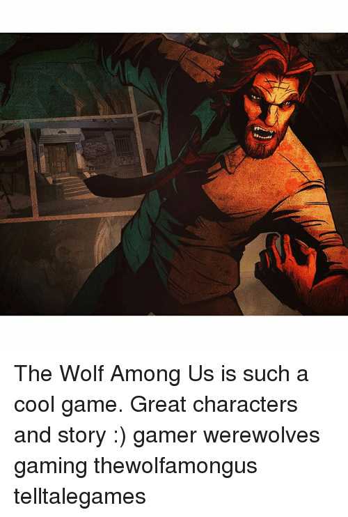 The Wolf Among Us Is Such A Cool Game Great Characters And Story