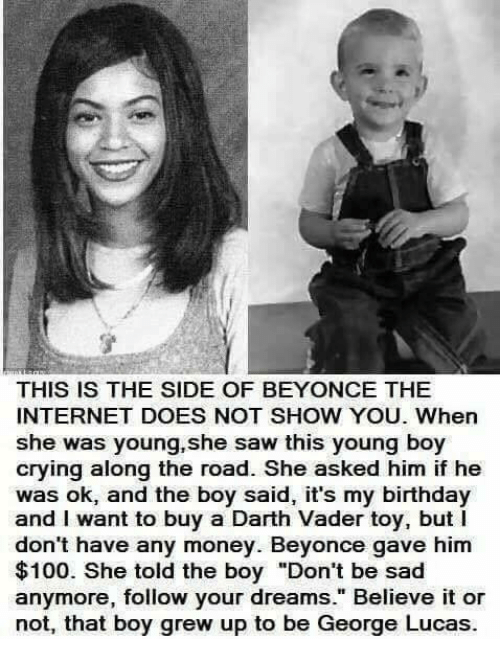 THIS IS THE SIDE OF BEYONCE THE INTERNET DOES NOT SHOW YOU