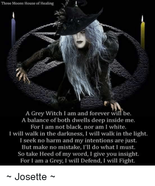 Three Moons House Of Healing A Grey Witch I Am And Forever Will Be