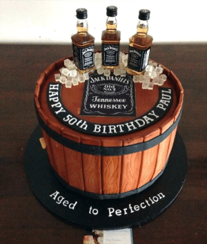 Jack Daniels Jack Daniels Nesee Whiskey Treneaonen Inet Ack Daniels Old No7 Snand Tennessee Ppy 50th Birthday Pa Whiskey Aged To Perfection Olt 40th Birthday Cake For Him Birthday Cakes For Men