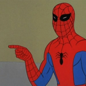 Spiderman Pointing At Spiderman Imgflip