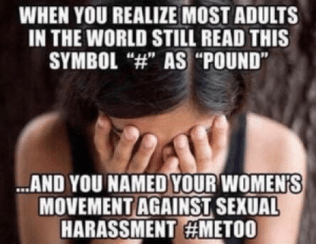 Image result for sexual harassment memes