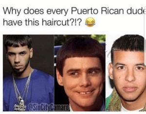 Why Does Every Puerto Rican Dud Have This Haircut Ayo Lemme Get