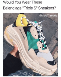 Used Select Shop Meme Mori Balenciaga Triple S Trainers Valencia