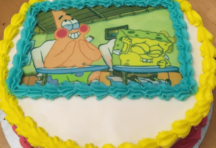 Today Is My 25th Birthday So My Girlfriend Got Me This Cake