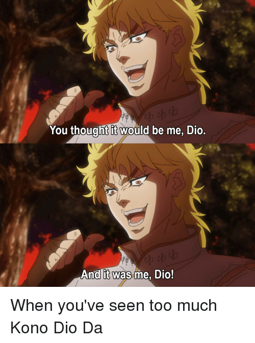 Tokyo Mx You Thought It Would Be Me Dio Tokyo Mx And It Was Me Dio