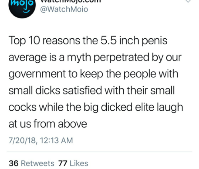 Dicks Penis And Government Watchmojo Com Watchmoio Molo Top  Reasons