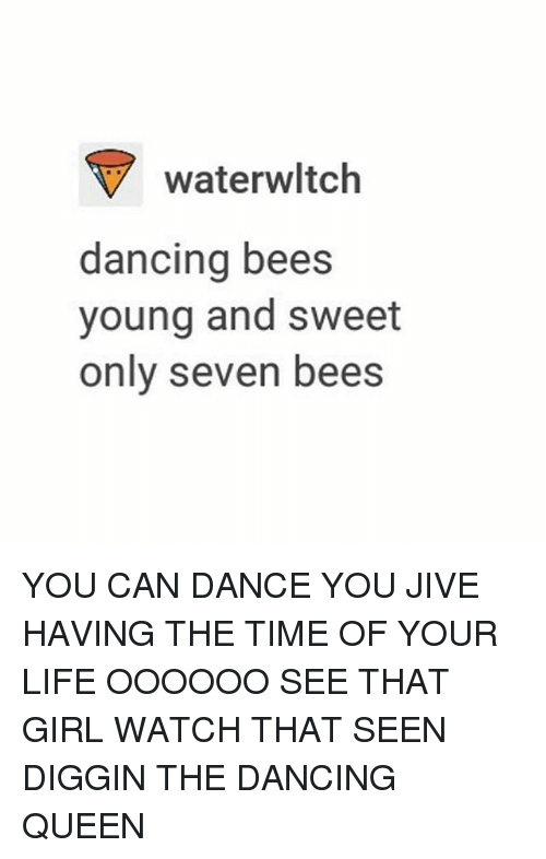 Waterwltch Dancing Bees Young And Sweet Only Seven Bees You Can