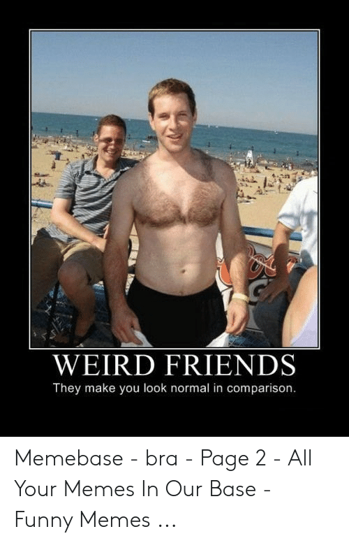 Weird Friends They Make You Look Normal In Comparison Memebase