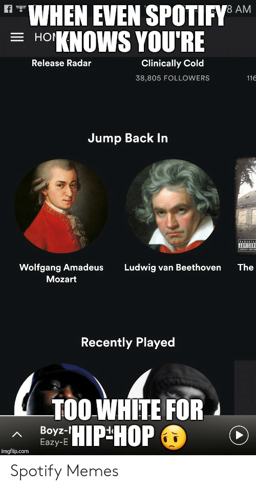 When Even Spotifyd Am 3 Ho Knows You Re Clinically Cold Release