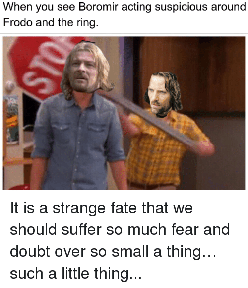 A Fresh Batch Of Lord Of The Rings Memes To Hold You Over Until