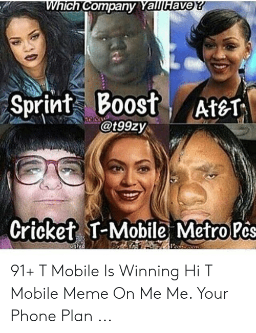 Which Company Yallfave Sprint Boost At T Nec Cricket T Mobile
