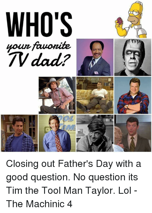 Who S Youn Fauonite Closing Out Father S Day With A Good Question
