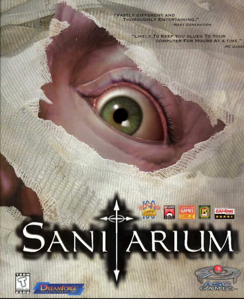 Sanitarium Windows Front Cover