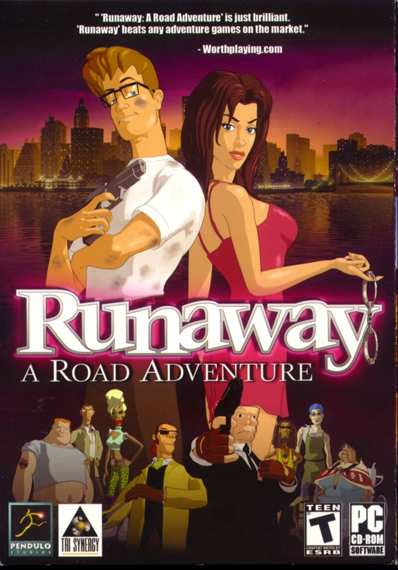 Runaway: A Road Adventure Windows Front Cover