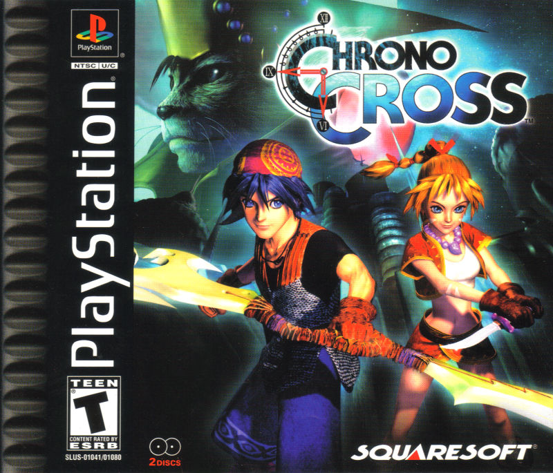 Chrono Cross PlayStation Front Cover