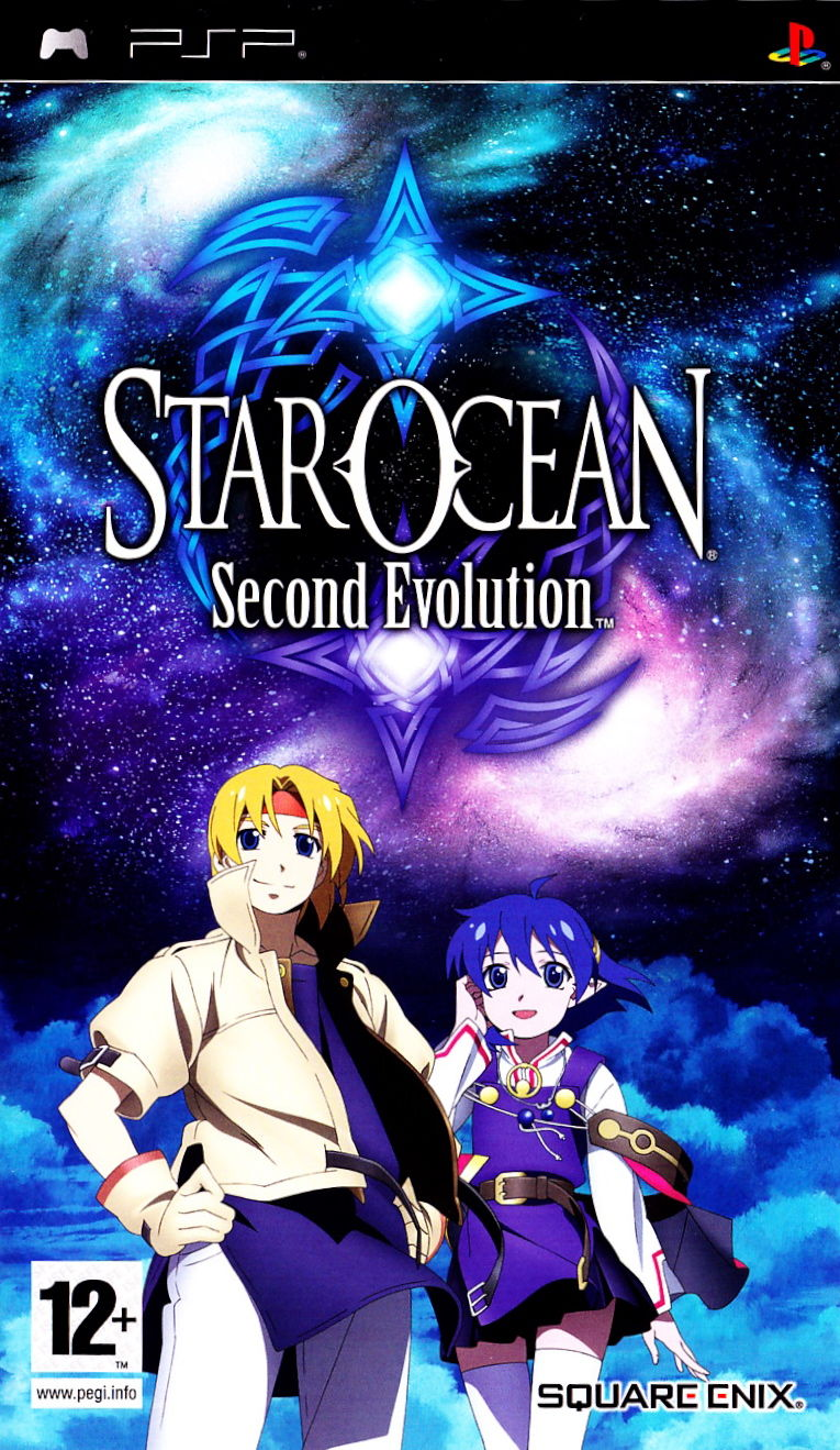 Star Ocean: Second Evolution PSP Front Cover