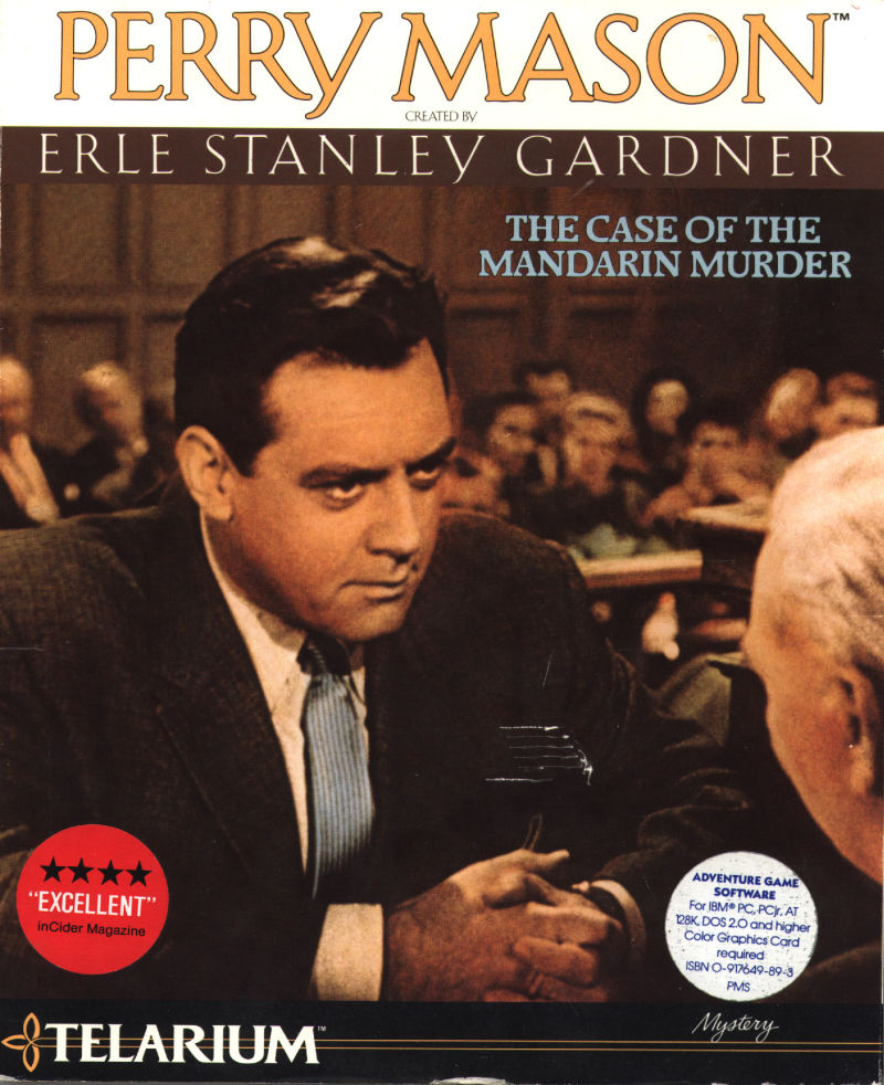 Perry Mason: The Case of the Mandarin Murder DOS Front Cover