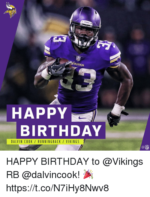 Birthday Meme Minnesota Vikings Happy