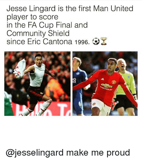 Jesse Lingard Is the First Man United Player to Score in ...