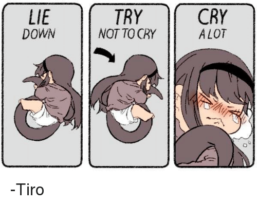 Lie Down And Try Not To Cry Httyd