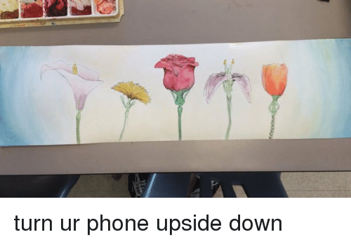 Don T Turn Your Phone Upside Down Just Don T