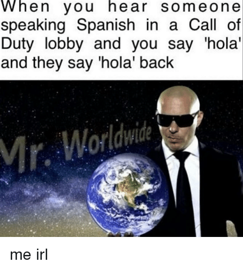 How Say Back Spanish