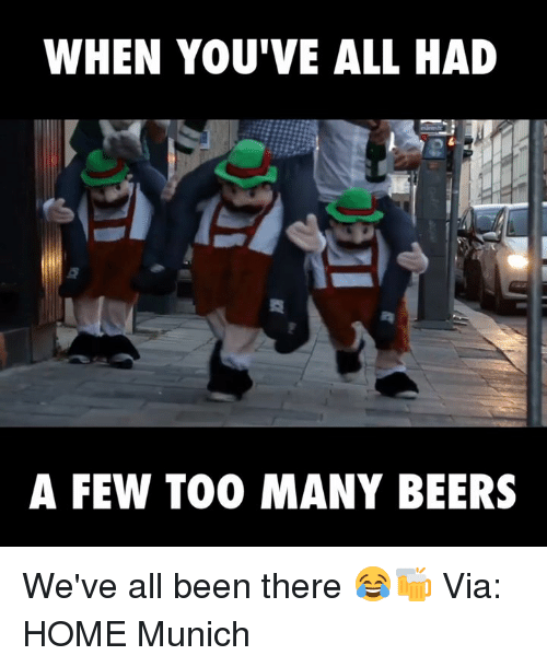 Many Beers Too How Many