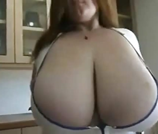 Bbw Honey Shows Her Massive Breasts
