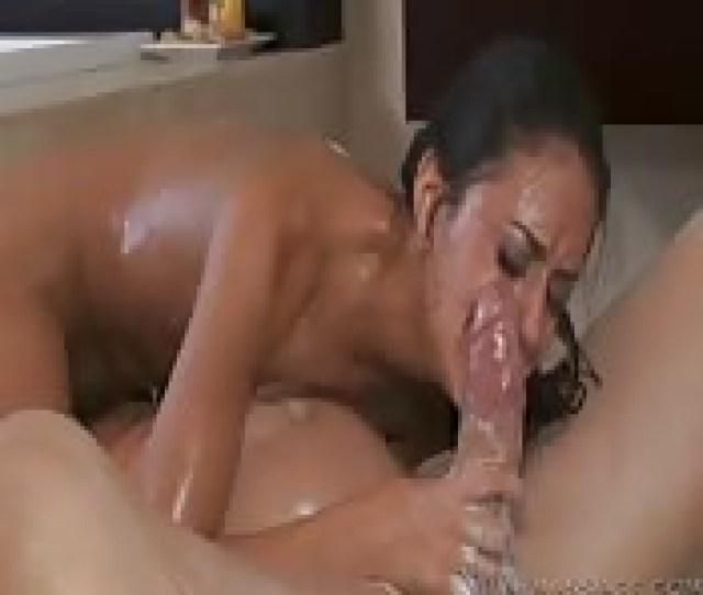 Full Oil Massage For Boyfriend And His Super Hot Chick