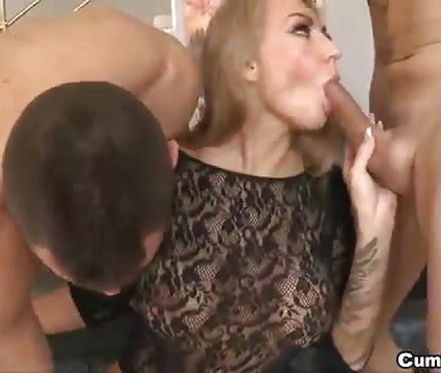 Blonde Milf Slut Who Loves Cock Up Her Asshole