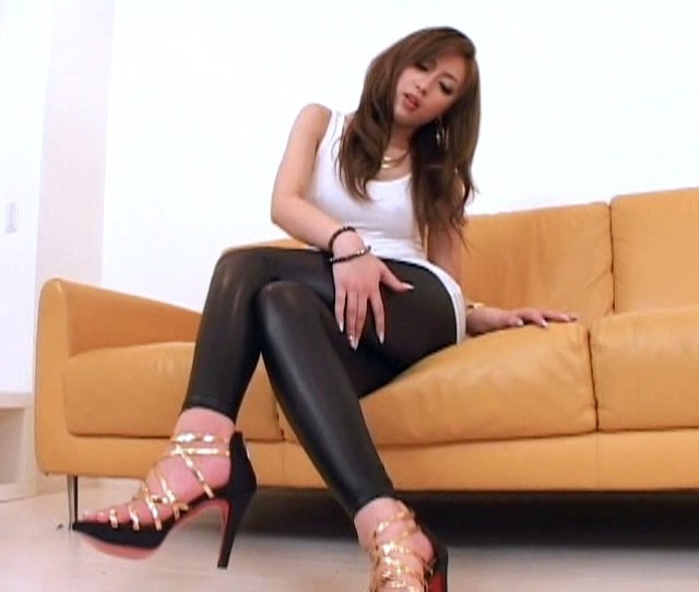 Leggings Madness Super Shiny X Real Tight Kaori Sakura