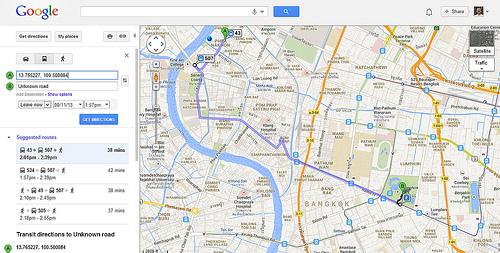 gmaps-bkk-route