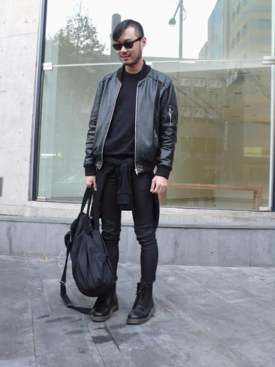 Yoo Jun Student Street Fashion Street Peeper Global