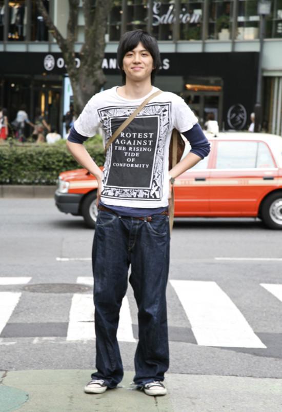 Yuta Tokyo Street Fashion Street Peeper Global
