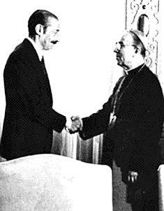 El Cardenal Samore y el Dictador Videla