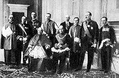 El dictador Benito Mussolini y la iglesia