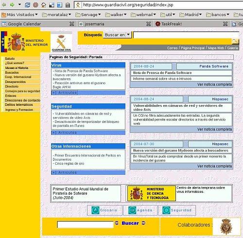 Seguridad Informática en el Ministerio del Interior