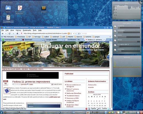 Fedora 11 Alpha KDE