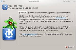 Acerca de KDE 4.4.00