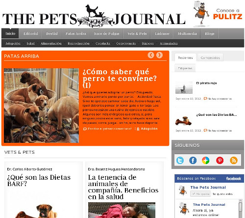 The pets journal